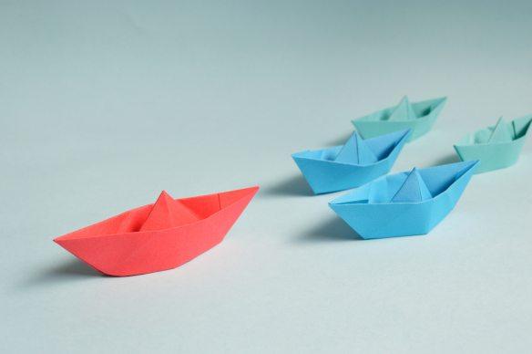 art-blue-boat-194094