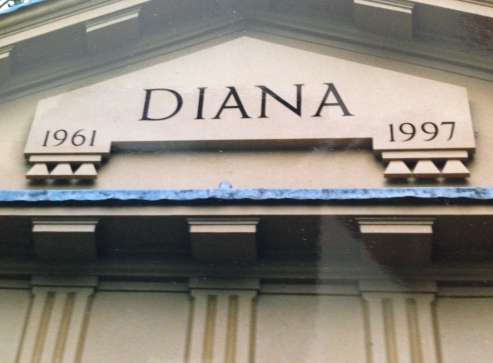 Memorial to Diana Princess of Wales at Althrop House